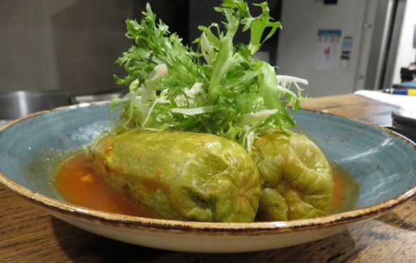Koussa Mahdhi (stuffed zucchin)